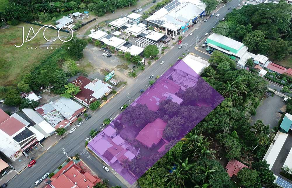 Commercial lots for sale Jaco